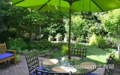 底楼花园装修效果图,花园景观设计实景图