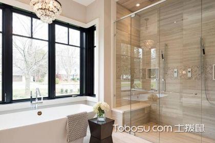 不同方式的淋浴隔断效果图设计,让卫浴空间更舒适