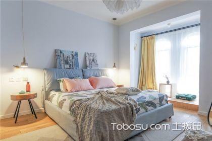2018最新北欧小套房卧室装修效果图,简单温馨是最好的