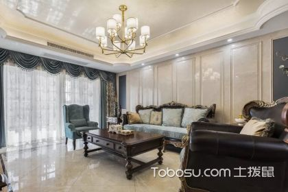 欧式房屋客厅装修效果图鉴赏,原来家可以美成这样