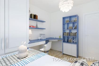 儿童房榻榻米床和书桌正确装修方法,儿童房榻榻米床和书桌如何设计