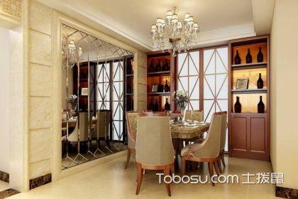 厨房门两侧酒柜设计实例,到底如何设计?