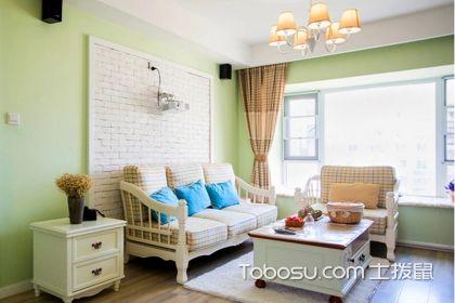 两居室90平米家装样板间案例,如此小清新你不喜欢吗?