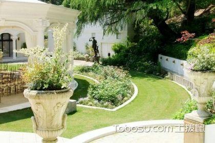 50平方花园设计效果图,50平的小花园要如何设计