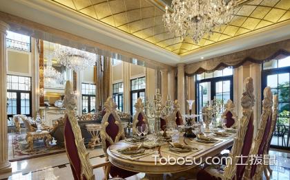 北京别墅装修效果图,豪华大气的设计案例