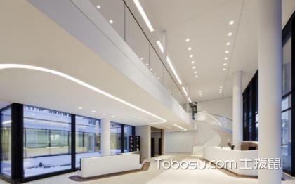 欧式办公楼一楼大厅效果设计图,奢华高档的代表