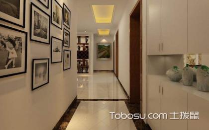 小过道地砖铺贴效果图,走廊也可以很美