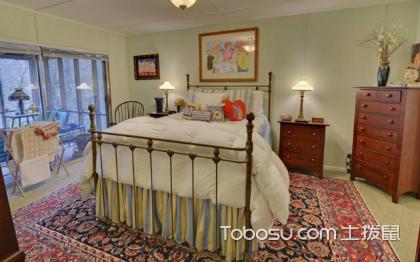 美式田园卧室装修效果图,感受空间的温馨浪漫