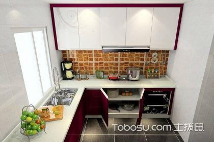 四种风格的L型小厨房装修图,享受你的烹饪时光