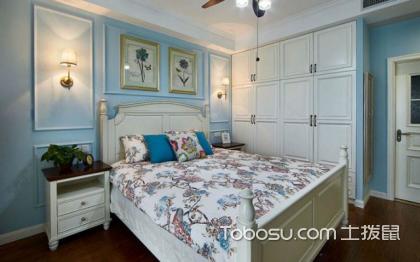 美式风格主卧室,给你不一样的居室环境