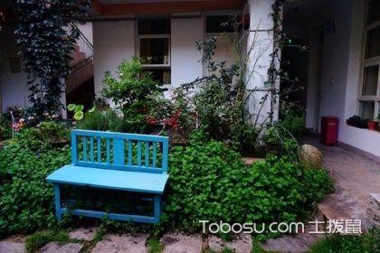 一楼小花园装修效果图,打造休憩小天地