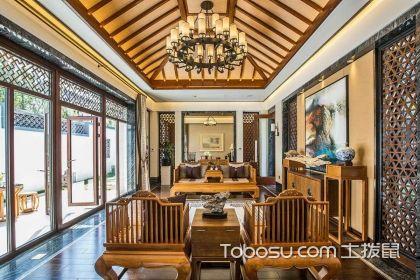 新中式客厅灯饰特点和选购技巧说明,好灯饰让家居装修更美