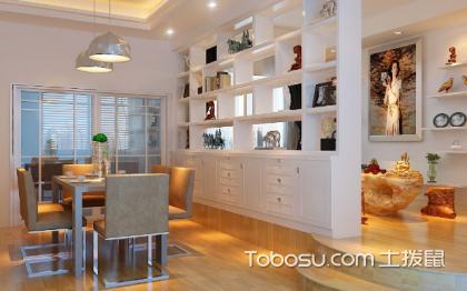 室内装修隔断柜,帮你打造充实的空间