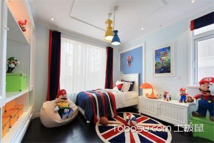 儿童房男宝宝卧室设计,每个孩子都喜欢的设计