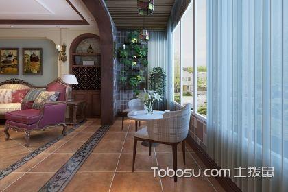 阳台仿古砖铺贴效果图,阳台地面选用仿古砖有什么好处?