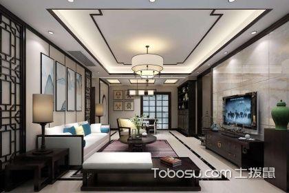 2018新中式客厅装修效果图,新中式客厅装修的小技巧