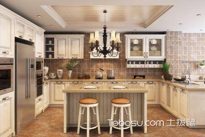 现代厨房岛台效果图,厨房岛台作用解析