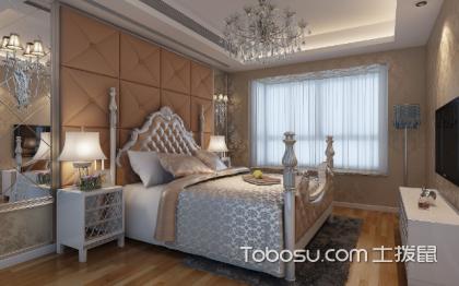 欧式田园卧室装修171平现代风格大户型装饰效果图片