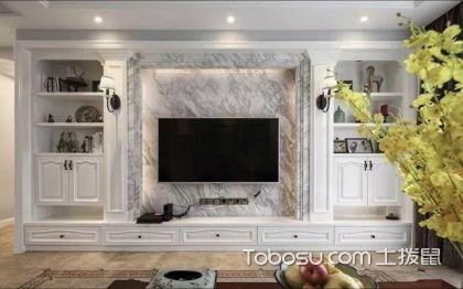美式电视背景墙,美观实用的背景墙设计图片