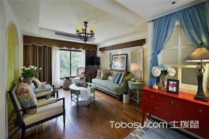 七十平米小户型装修效果图,小房子也能给你美式的精彩!