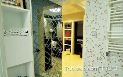 过道厕所隐形门效果图,让你感受不一样的空间
