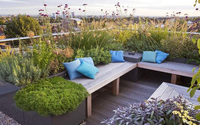 屋顶花园的施工顺序,施工必看的知识