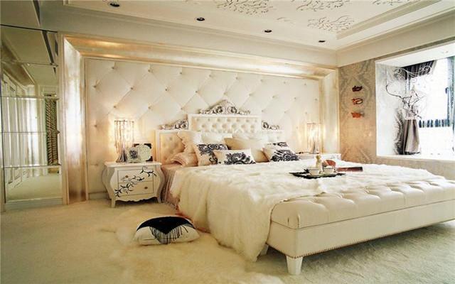 欧式床头背景墙,高贵到骨子里