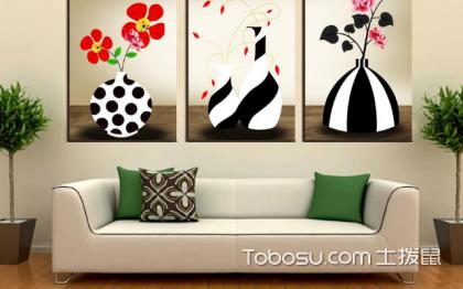 客厅装饰画挂什么好,四款特色装饰画介绍