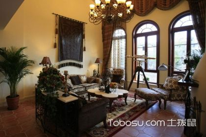 40平米客厅装修实景图,40平米的大客厅设计技巧