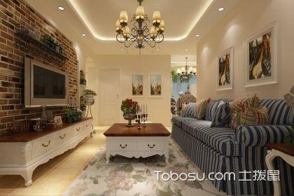 三居室美式新房装修设计要点说明,让你家更时尚