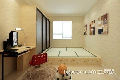 日式榻榻米房间效果图,简单设计舒适使用