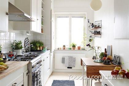 最新小户型厨房置物架效果图,有了这些设计厨房一点都不挤