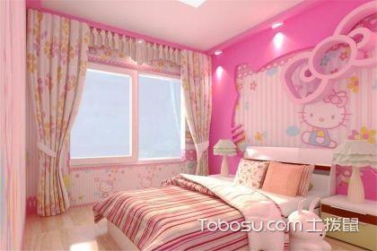 儿童房粉色壁纸,给孩子打造粉色的梦幻王国