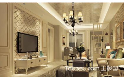 客厅墙布贴什么颜色好?选对墙布很重要