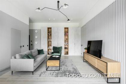 140平米商品房装修效果图,简单温馨的北欧风设计