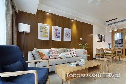 100平米房子装修经典案例赏析,原木的简约风更美
