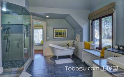 衛生間磚墻裝修效果圖,時尚優美的沐浴環境