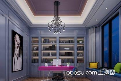 简欧式书房装修效果图,不同风格呈现不同的魅力