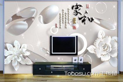 3d壁纸电视墙效果图,3d壁纸背景墙好吗