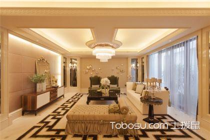 从墙面到地面,客厅的装修如何做到省钱又漂亮