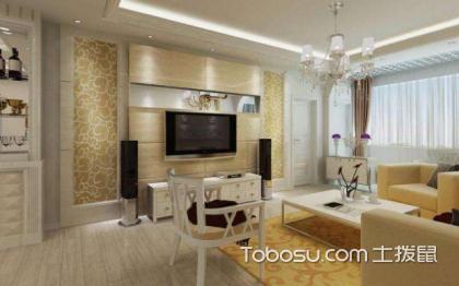 简欧电视背景墙,打造不一样的客厅空间