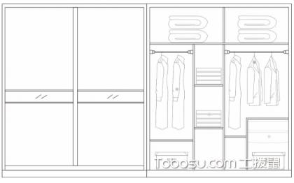 衣柜投影面积怎么算,哪种方式比较划算?