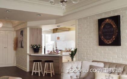 家装吧台隔断效果图,小空间也可以拥有吧台