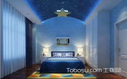 儿童房房顶u乐娱乐平台设计,设计案例介绍