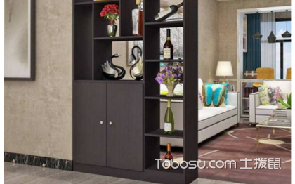 房间隔断柜装修,你的空间你做主