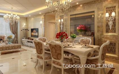简欧风格餐厅装修效果图,享受品质生活空间
