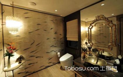 新中式卫生间图片,卫生间如何装饰好看?