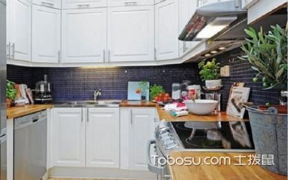 小戶型北歐風格廚房,簡單的裝飾也很美