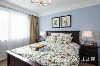 美式卧室装修效果图,美式风格卧室装修要素