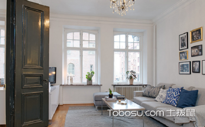 90北欧U乐国际小户型u乐娱乐平台,精心设计似豪宅